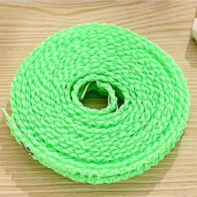 Tendedero Antideslizante Cuerda Para Ropa Verde