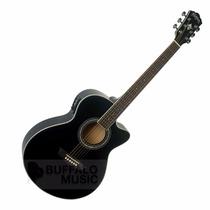 Washburn Ea12b Guitarra Electro Acustica Con Eq Y Afinador