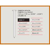 5000 Clavos Para Clavadora Neumatica Compresor 25mm Serie F