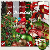 Kit Scrapbook Digital Navideño Todo Navidad Imagenes Fondos