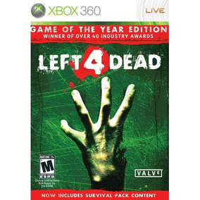 Left 4 Dead Game Of The Year Edition Xbox 360 | Lacrado Novo