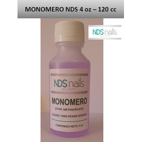 Monomero Morado 4 Oz - 120 Ml Secado Rapido Nds.nails