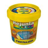 Rejunte Acrílico Creme Piscina / Porcelanato 1kg Fortaleza