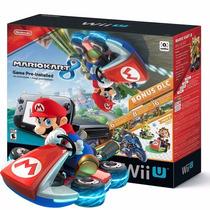 Wii U Wiiu Deluxe 32gb Mario Kart 8 Bundle E-sedex