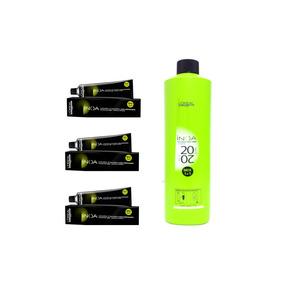 Loreal Kit Inoa 3 Colorações +1 Oxidante 20vol - Promoção