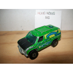 Hot Wheels Vintage 1979 Baja Breaker Van Verde Hong Kong