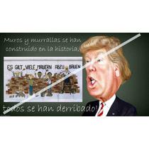 Caricatura Poster Muro De Donald 2 50 X 90 Cm Papel Glossy