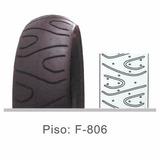 Cubierta 130/70-17 Twister Bajaj Fz Ybr 250 Fortune Wagner
