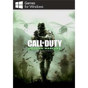 Call Of Duty Modern Warfare Remastered (mídia Física) Pc-dvd
