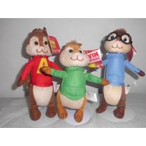 Alvin Y Las Ardillas 3 Personajes $690.00
