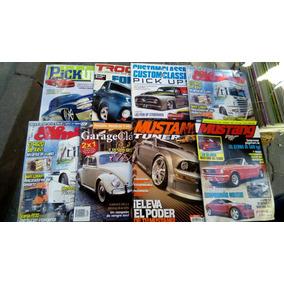 Lote De Revistas De Autos Curvas Solo Camion Mustang Pick Up