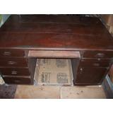Mueble, Escritorio De Caoba