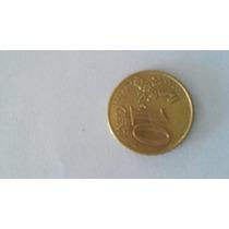 Moeda 10 Centavos Euro