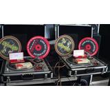 Partechnics Sl1200 Mk2+kit Ortofon+case+agulhas+feltro+mixer