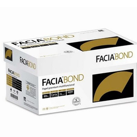 Papel Facia Bond Carta Caja 10 Resmas