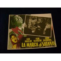 La Marca De Satanas Luis Aguilar Lobby Card Poster Cartel