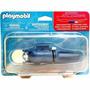 Playmobil Set 5159 Motor Azul Para Barco Mar Peces Js!!!