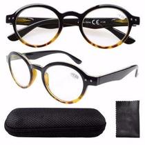 Lentes Gafas Armazón Para Graduar Oftalmico Redondos Hipster