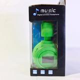 Auriculares Music N-65 Inalámbricos Con Reproductor Mp3