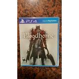 Bloodborne Ps4 Nuevo Fisico
