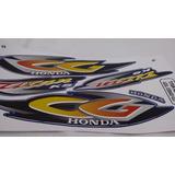 Kit Adesivos Faixas Honda Cg 125 Titan Es 2001 Azul