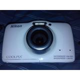Nikon S32 Camara De Fotos Video Sumergible
