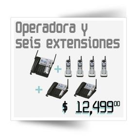 Conmutador Inalámbrico, Operadora Y Seis Extensiones Plus