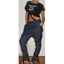 Pantalon Chiripa Babucha De Jean