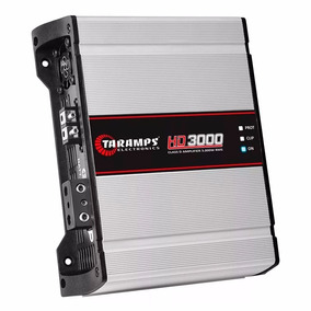 Módulo Amplificador Taramps Hd3000 Digital 3000w Dsp3000 Top
