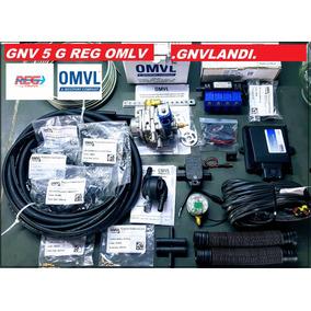 Kit 5ªg Gas Natural Gnv Omvl Reg Omvl + Nf + Garantia 12m
