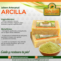 Pastillas Jabonosas De Tocador Artesanal 80gr
