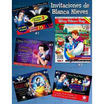 Invitaciones De Blanca Nieves 2- Invitaciones De Princesas