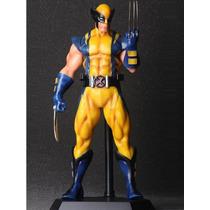 Action Figure Avengers Wolverine 28cm Pvc Pintados A Mão