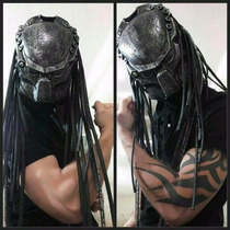 Mascara Predador Top Com Laser 3 Cores Cabelos De Borracha