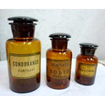 Oferta Lote1 Frascos Antiguos Farmacia,muy Buen Est,envios