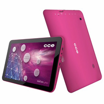 Tablet Cce Tr92 Rosa Tela 9 , 8gb, Wi-fi, Original Vitrine