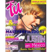 Justin Bieber Revista-poster Tu De Octubre 2011