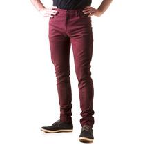 Pantalones Hombre Elastizado Skinny Colores Minimalstore