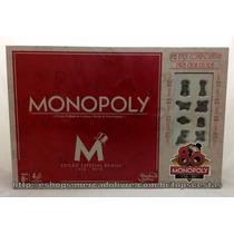 Jogo De Tabuleiro Monopoly Especial 80 Anos Original Hasbro