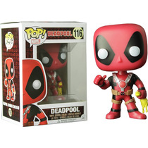 Funko Pop Deadpool C Pollo De Goma Rubber Chiken Exclusivo