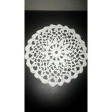 Carpetas Manteles A Crochet Tejido Artesanal Ideal Deco