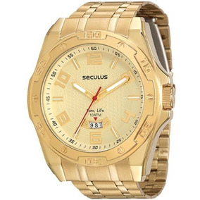 Relógio Seculus Masculino Long Life 23510gpsvda1 Original