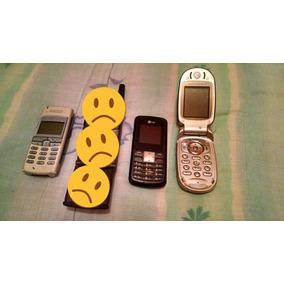 Celular Antiguo Vintage Para Refacciones Nokia Y Lg