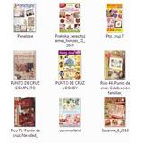 _ 9 Revistas Para Manualidades En Punto De Cruz (lote 3)