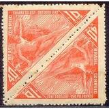Selo Brasil,tête-bêche Semana Da Asa 1947