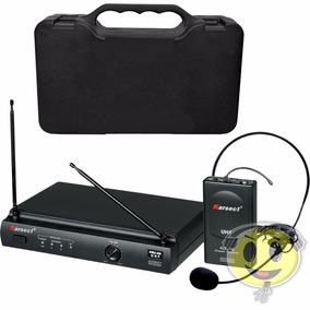 Microfone Sem Fio Karsect Kru 301 Headset Profissiona Cabeça