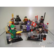 Asa Noturna Joker Charada Pinguim Robin Batgirl Lego Batman