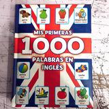 Libro Mis Primeras 1000 Palabras En Ingles Niños Didactico