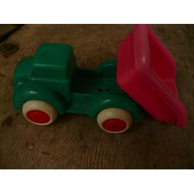 Camion Volcador Juguete Flexi Toys Suecia Nº 1060