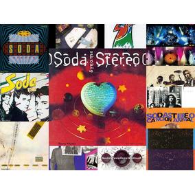 Discografia Soda Stereo 15 Cds + 2 Dvds Open Music